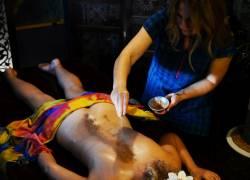 Udvartana masaż ajurwedyjski Poznań